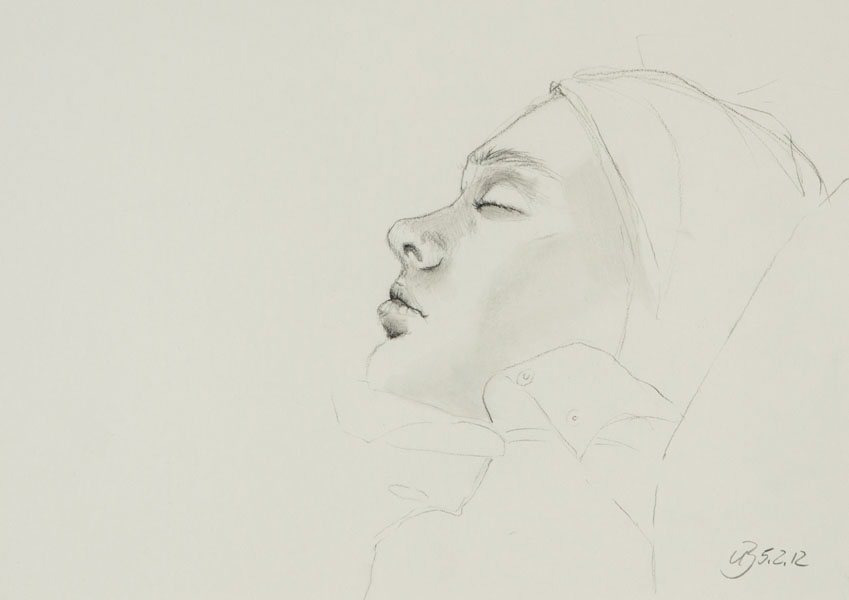 Portrait, Bleistift, 2012