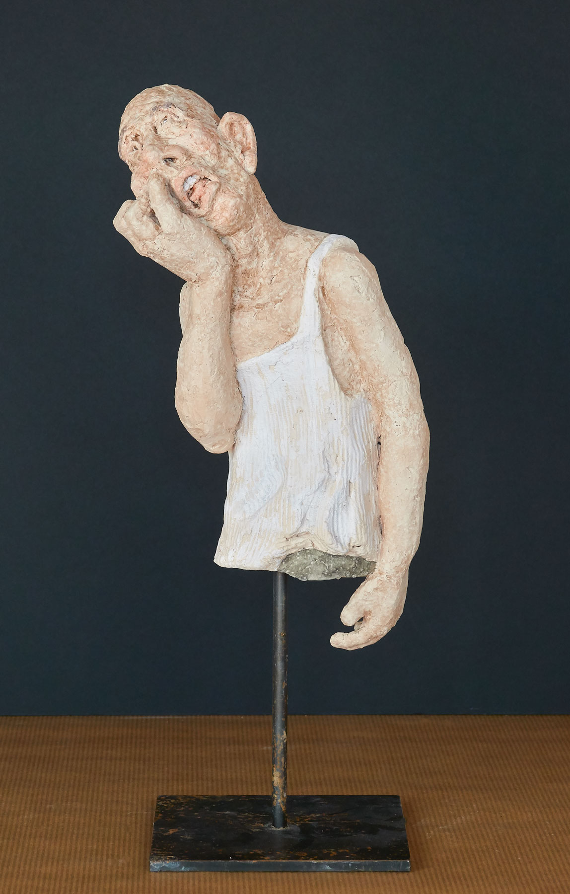 Sculpture Der Popler, Ton, 2018